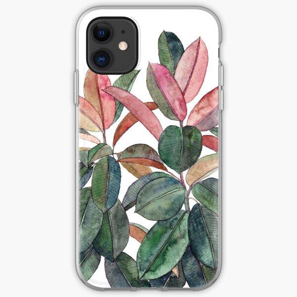 Rubber Plant iPhone Soft Case