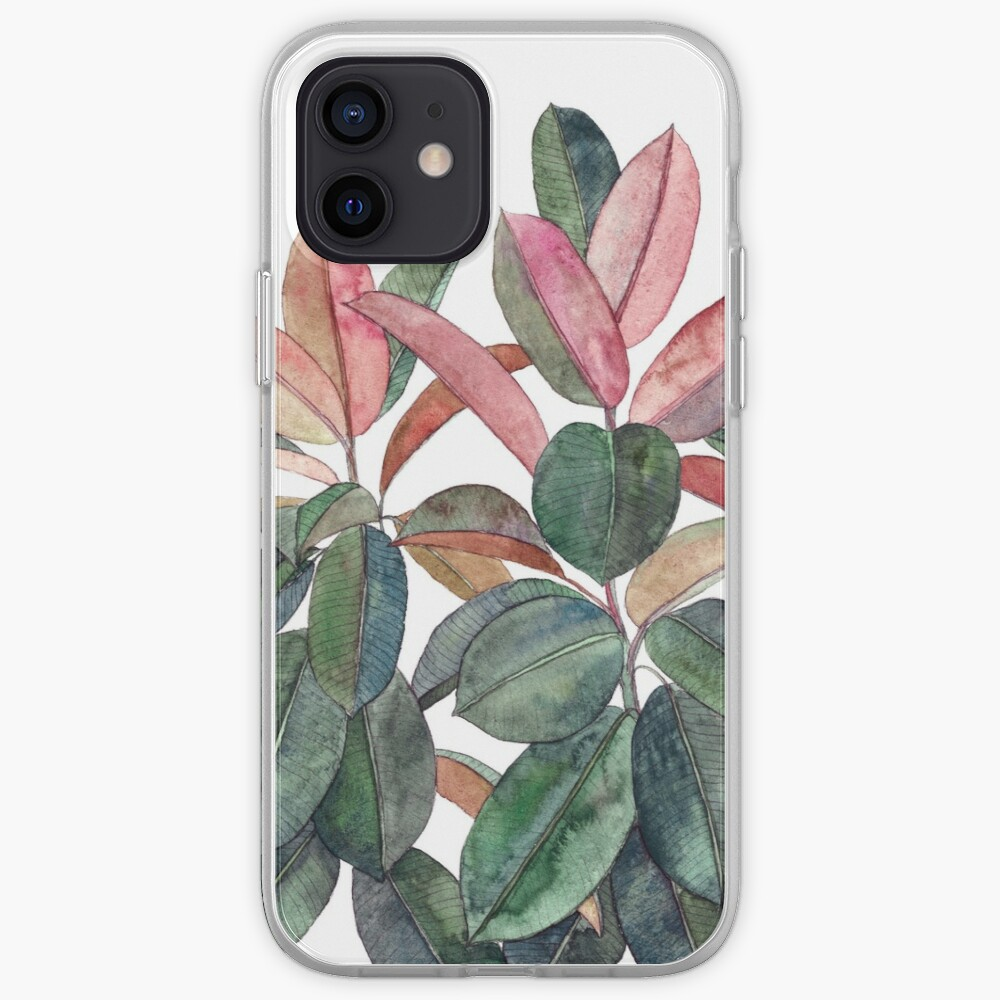 Rubber Plant iPhone Case & Cover