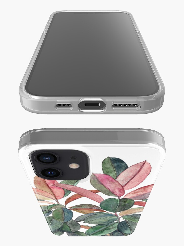 Alternate view of Rubber Plant iPhone Case & Cover