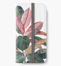 Rubber Plant iPhone Wallet/Case/Skin