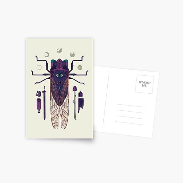 The Harbinger Postcard
