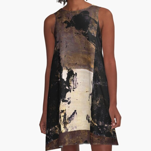 Art Scratches A-Line Dress