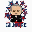Team Gilmore Politico'bot Toy Robot by Carbon-Fibre Media