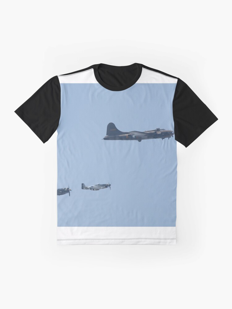 Alternate view of Scouting the Skies Still Graphic T-Shirt