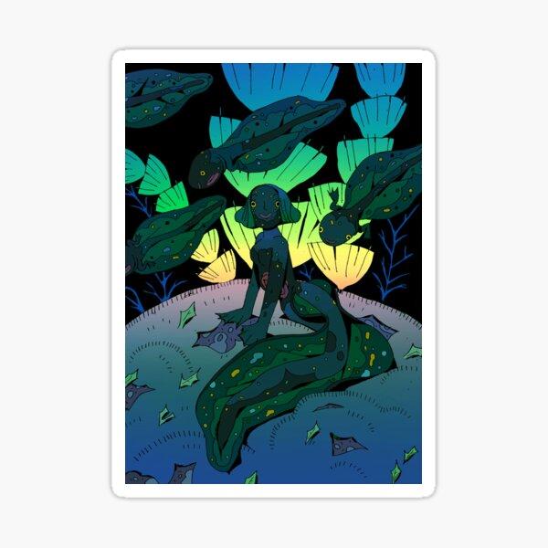 Tadpole Mermaid Sticker