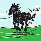 Horse by rimadi