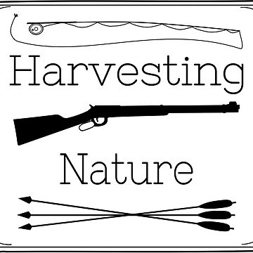 Harvesting Nature Logo T by HarvestingNatur
