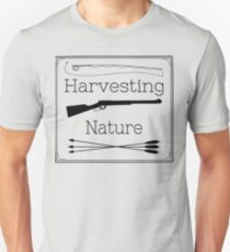 Harvesting Nature Logo T Slim Fit T-Shirt