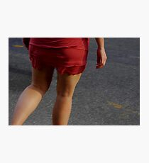 Crossing the Street Photographic Print