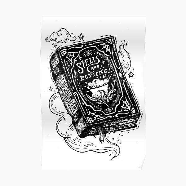Libro de hechizos Póster