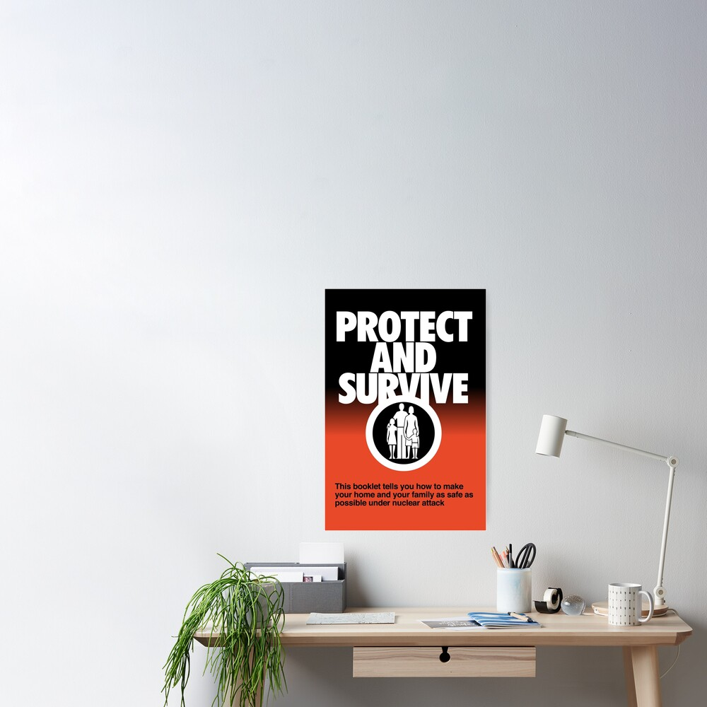 NDVH Protect and Survive Poster