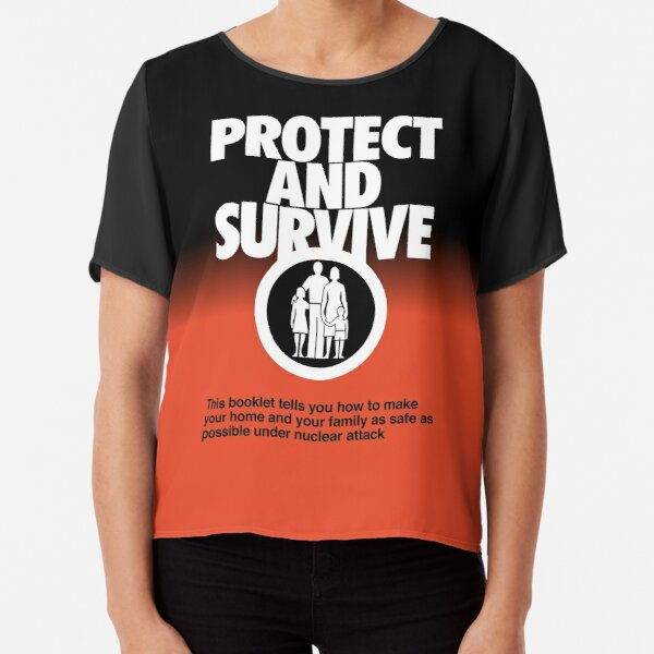 NDVH Protect and Survive Chiffon Top