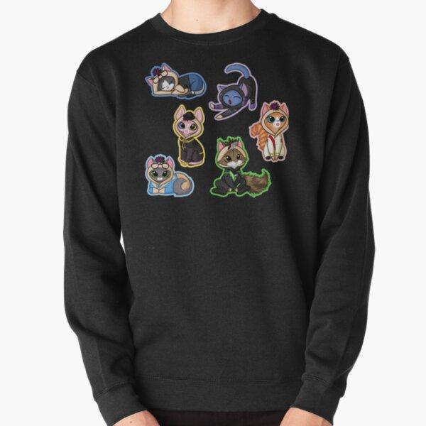Cat Sanders Sides Onesie Tile - All Sides Pullover Sweatshirt
