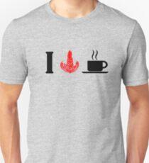 I HEART COFFEE Unisex T-Shirt