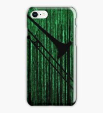 Matrix Musician - Trombonist iPhone Case/Skin