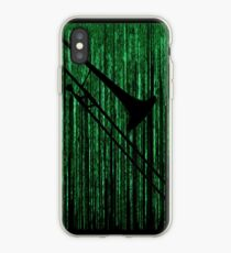 Matrix Musician - Trombonist iPhone Case