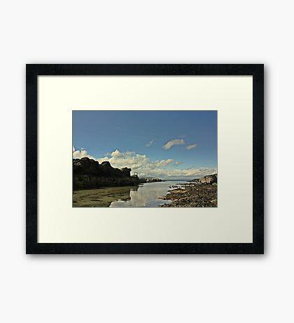 Portstwewart - A quiet Spot Framed Print