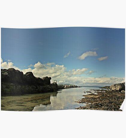 Portstwewart - A quiet Spot Poster