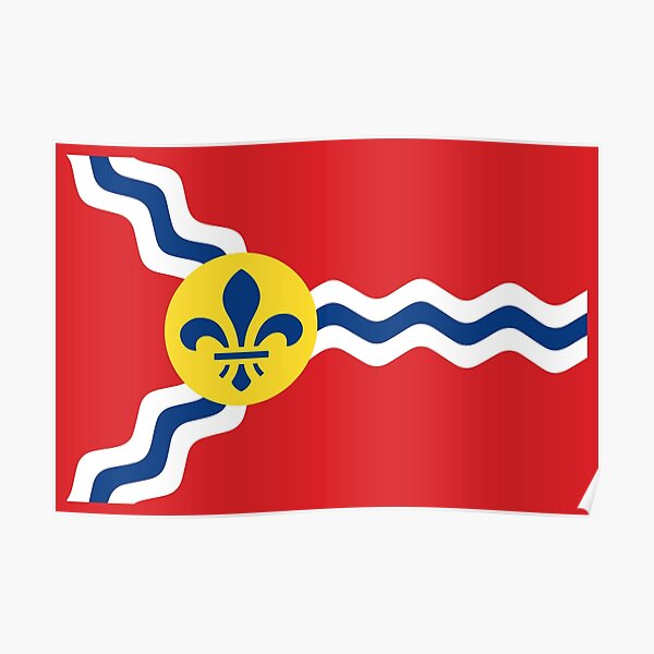 St. Louis Flag Poster