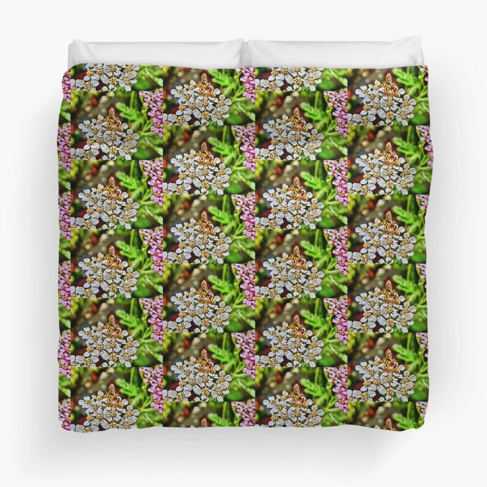 Meet the Pollinators, No.1 Duvet Cover