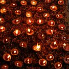 ADJACENT FLAMES by RakeshSyal