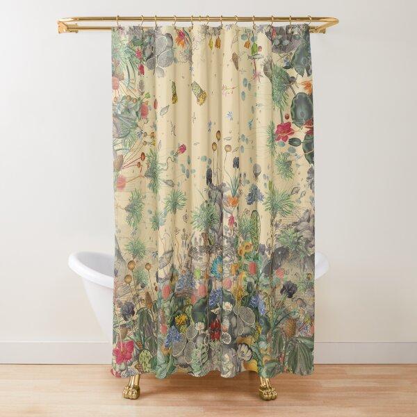 Garden Surround Shower Curtain