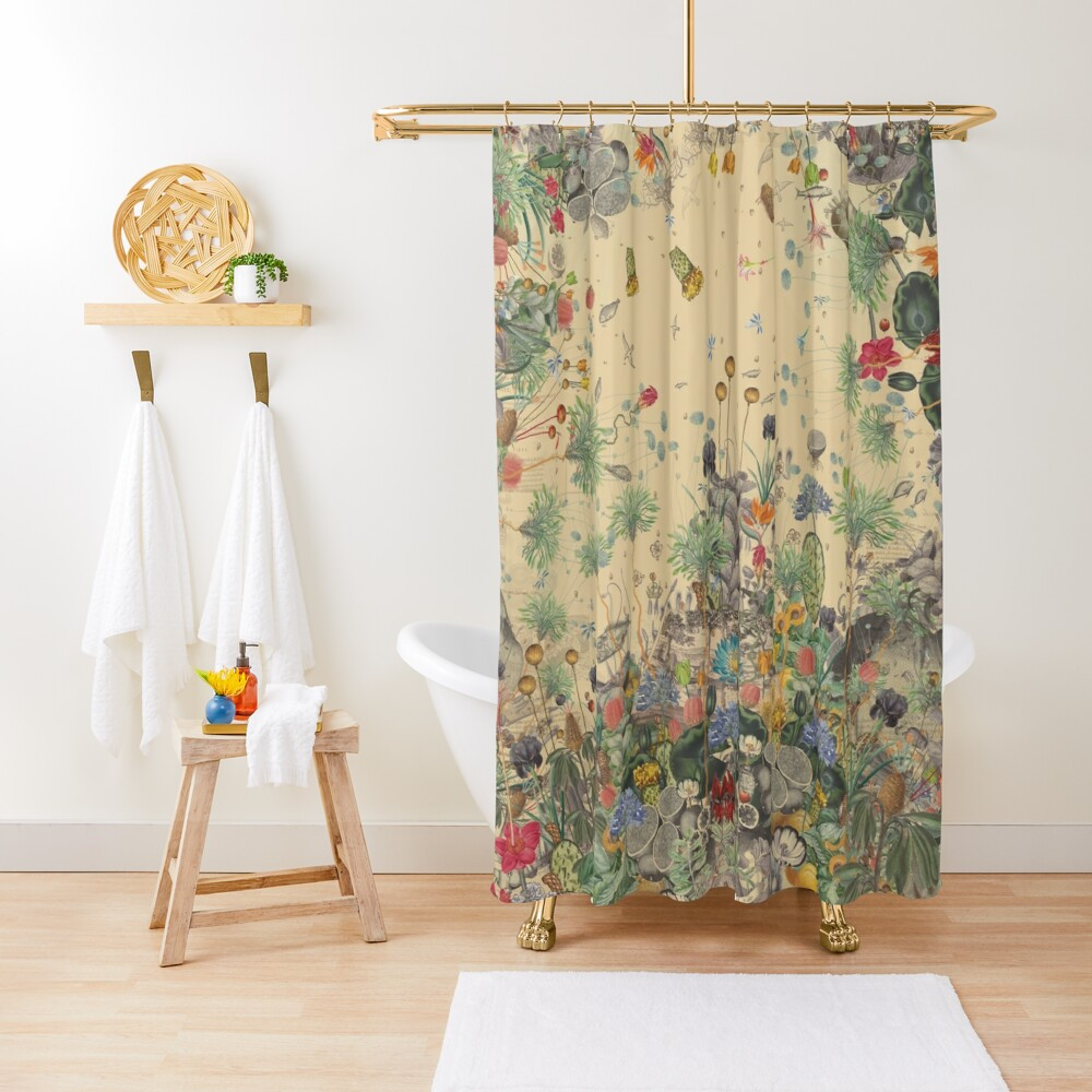 Garden Surround Shower Curtain