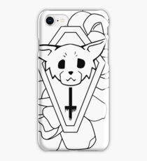 Kitty Casket iPhone Case/Skin