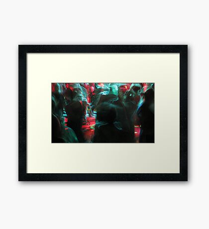strictly bhangra Framed Print