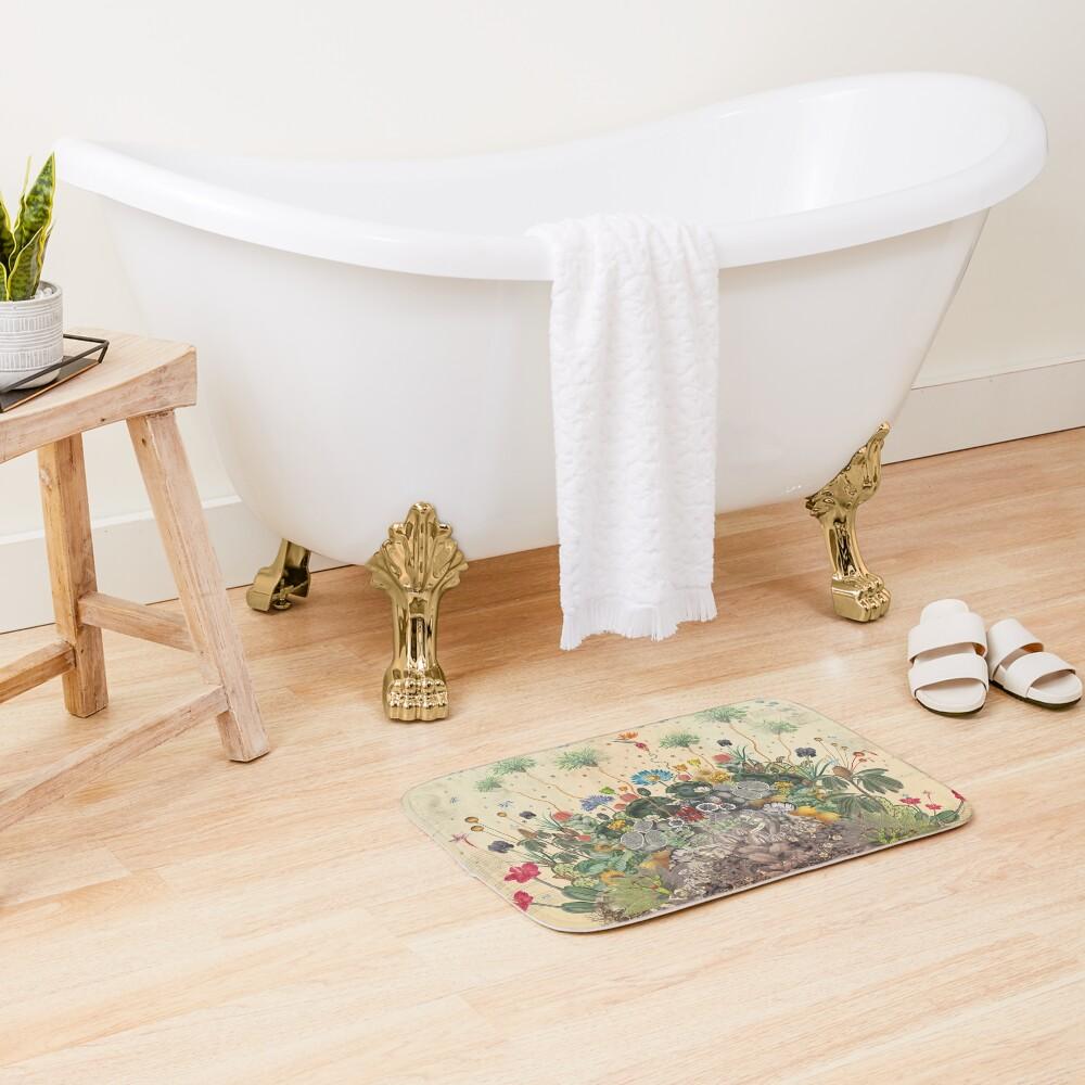 FANTASTIC BOTANICAL Bath Mat