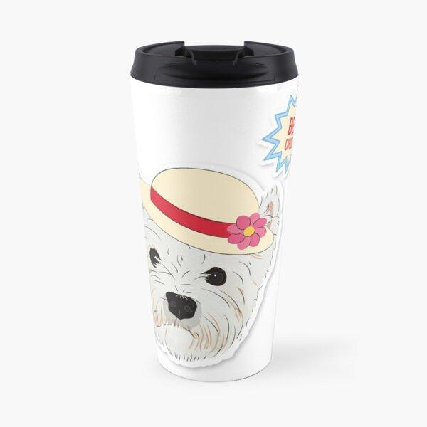 "Cutie Canine Westie ""Best Choice"" Travel Mug"