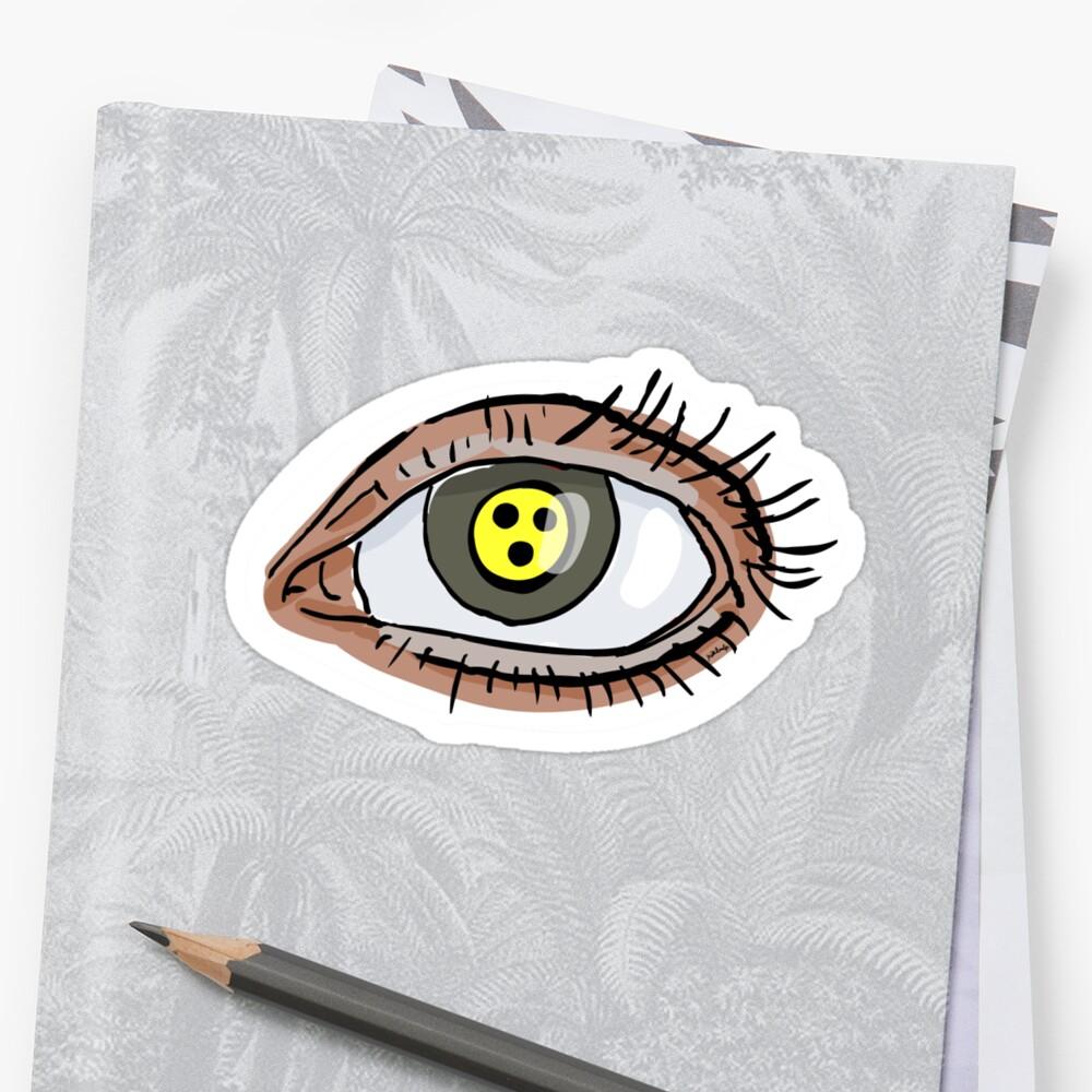 looknotsee Sticker
