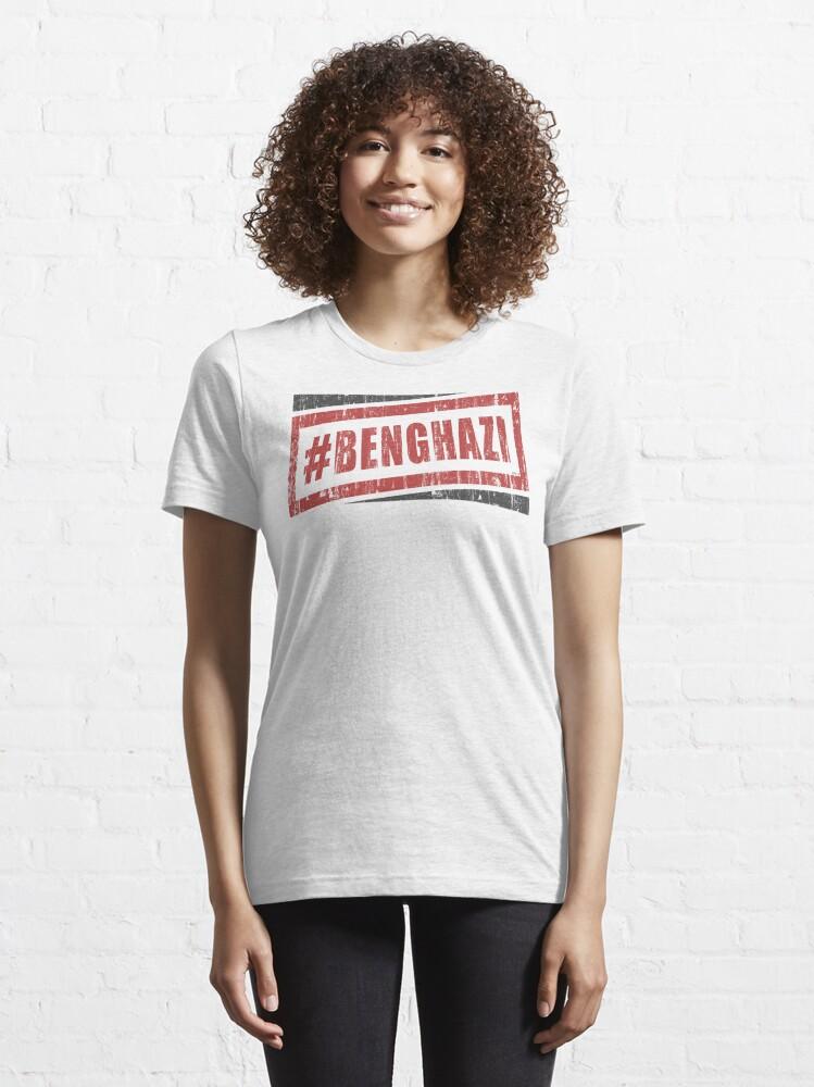 Alternate view of Benghazi Essential T-Shirt