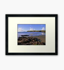 Cornwall: Polzeath Beach Framed Print