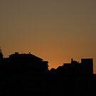 Sunset Houses by Bob Merhebi