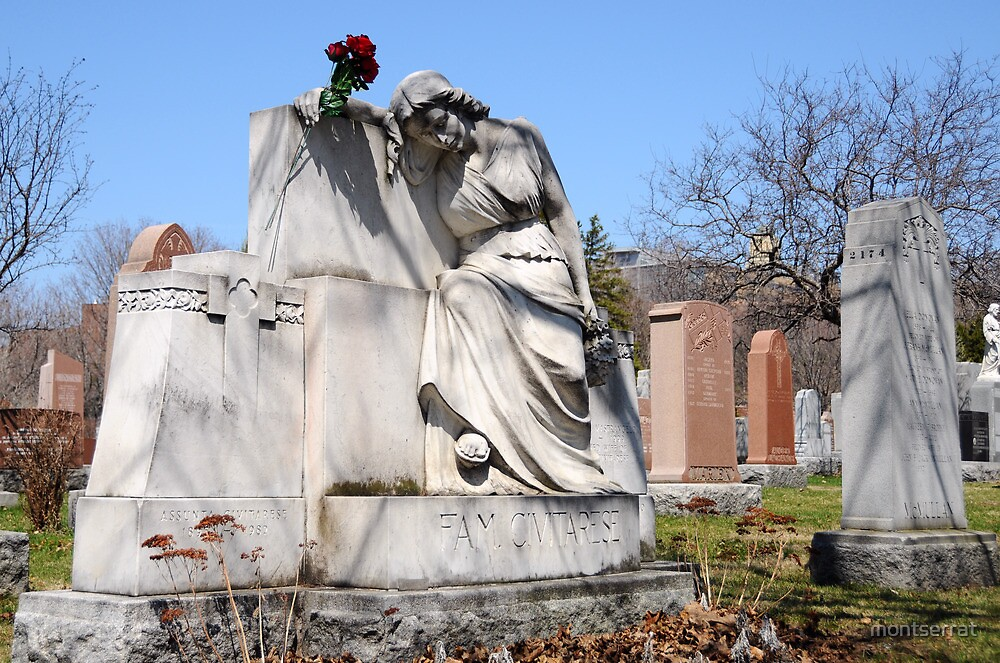 Watchful Over Grave by montserrat