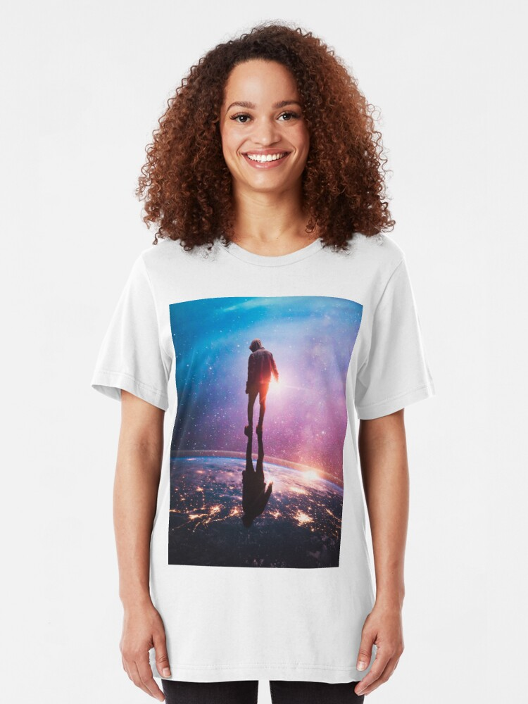 Alternate view of A World Away Slim Fit T-Shirt