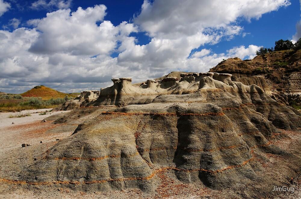 Landscape at Teddy Roosevelt National Park by JimGuy