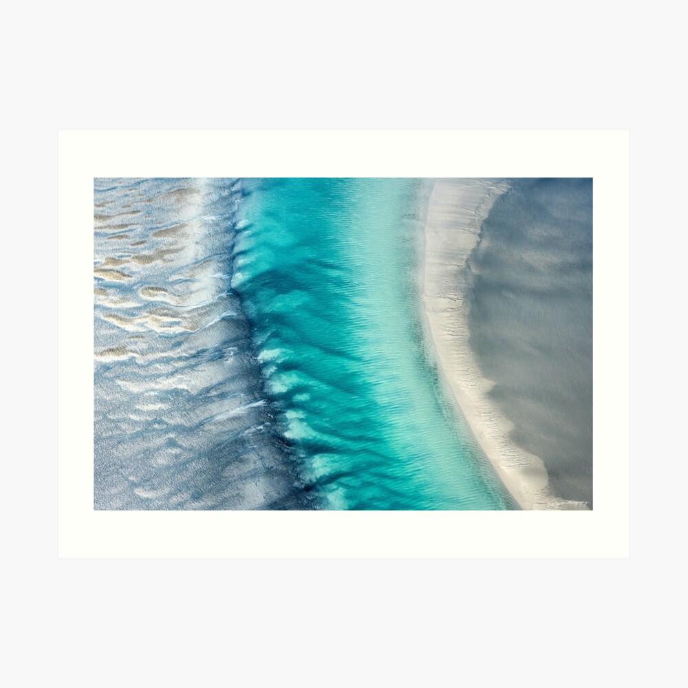 Ozean-Kanal Kunstdruck