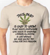 Marijuana Give It Away Unisex T-Shirt