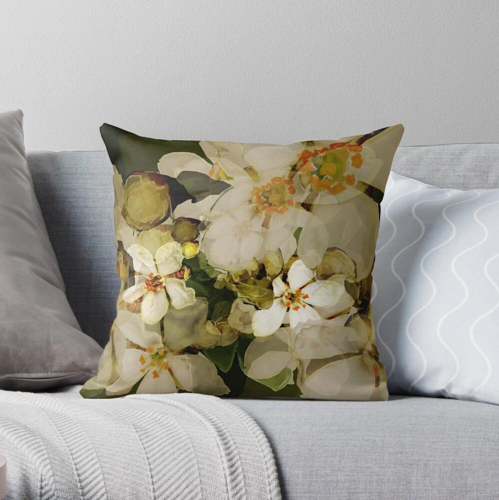 Alhambra Blossom II Throw Pillow