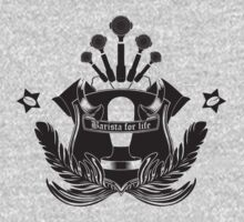 Barista Crest (light tees and hoodies)