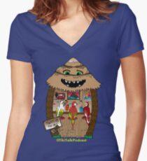 Thatch's Tiki Bar Women's Fitted V-Neck T-Shirt