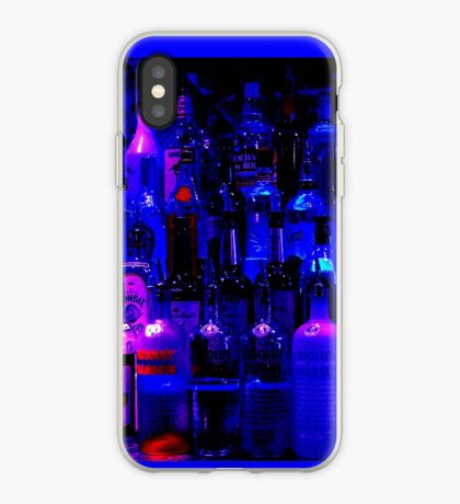 drinking makes me blue iPhone Case