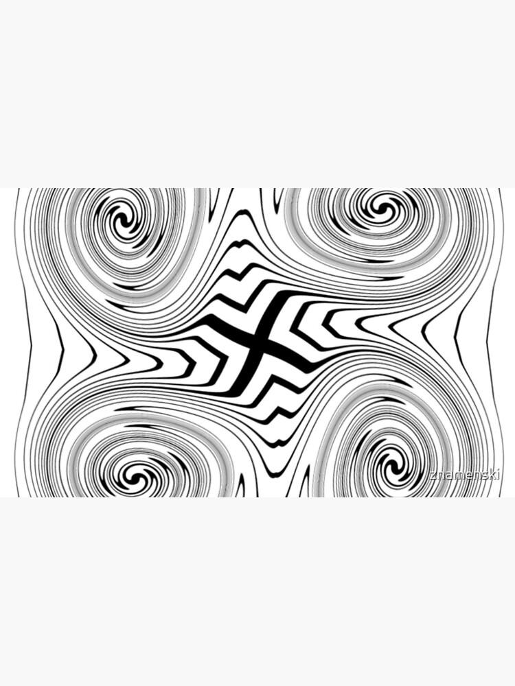 #Vortex, #abstract, #design, #spiral, illustration, shape, pattern, twirl, chalk out, scribble by znamenski
