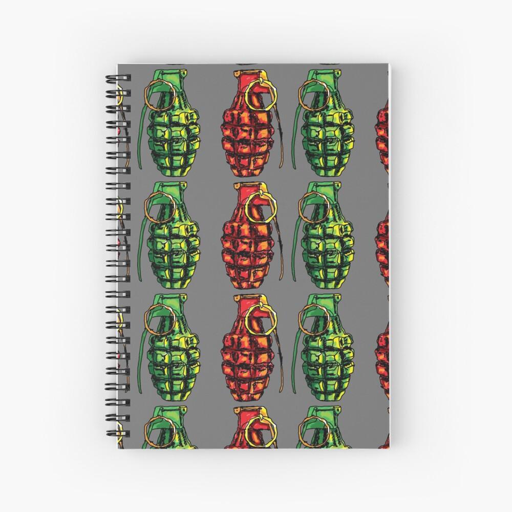 Grenade Spiral Notebook
