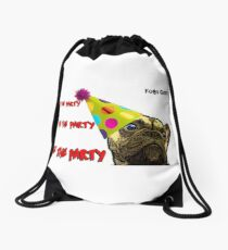 Kobi Casts - Live the party, Love the Party, BE THE PARTY! Drawstring Bag