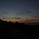 Nature's Sunset Strokes - 1 by Bob Merhebi