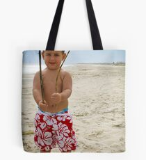I am king of this beach... Tote Bag