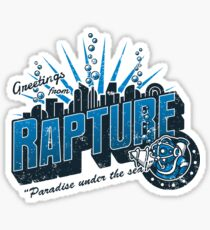Greetings from Rapture! Sticker